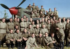 Pilots And Air-gunners Of The 566th Assault Aviation Regiment, 1944
