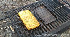 Pie Iron Pancakes. What a great idea!