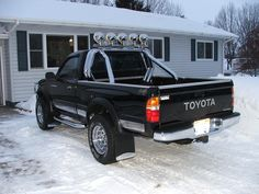 10 best truck roll bar styles images on pinterest rolling bar similar to my husbands 1986 red toyota 4x4 minus the fog lights aloadofball Choice Image