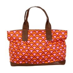 great tangerine tote