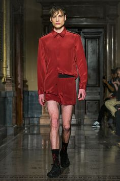 STINAK MENSWEAR FASHION SHOW RED