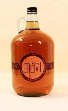 Mavi is a homemade sweet root beer kind of drink. It is the extract from the Mavi root plant combined with brown sugar and fermented to a tangy spicy taste.