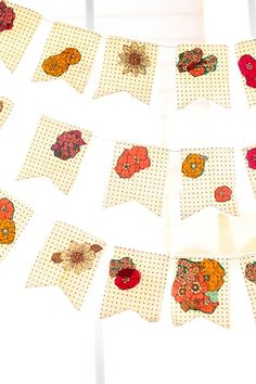 a floral dotted bunting is my fave