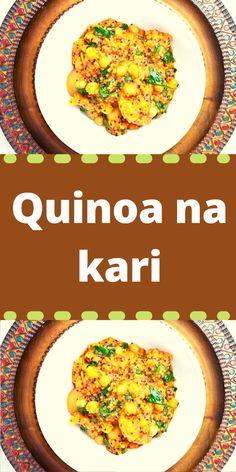 Fried Rice, Quinoa, Fries, Ethnic Recipes, Food, Turmeric, Essen, Meals, Nasi Goreng