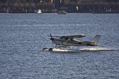 Seaplane on Lake Como #1