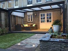 Pergola Over Front Door Diy Pergola, Pergola Garden, Outdoor Pergola, Pergola Kits, Back Garden Design, Modern Garden Design, Backyard Patio Designs, Backyard Landscaping, Outdoor Garden Rooms