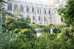 National Cathedral near St. Albans School DC #wedding
