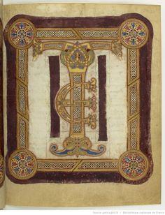 Titre : Sacramentarium Sancti Dionysii [Sacramentaire de Saint-Denis]. Date d'édition : 850-899 Type : manuscrit Latin 2290 20r