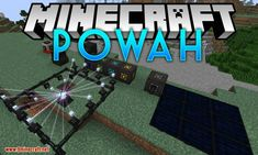 Powah Mod 1.14.4 Download | Miinecraft.org Minecraft Forge, Minecraft Mods, Thermoelectric Generator, Energy Storage, Solar Panels, Product Launch, Sun Panels