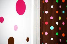 Polka Dot Bathroom