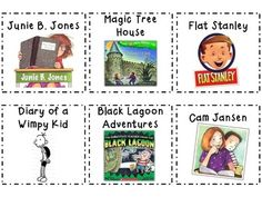 Classroom Library Book Labels K-2