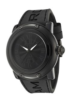 All black everything Rock Watch, Amai, All Black Everything, Glam Rock, Watch Sale, Stainless Steel Case, Designer Collection, Michael Kors Watch, Watches