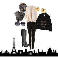 my dream outfit for winter in paris... @Maya Gerstein!!!!!