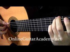 The Four Seasons, Winter, 2nd mvt, A.Vivaldi (solo classical guitar arrangement by Emre Sabuncuoglu) - YouTube