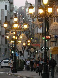 The shopping street | Description Vigo shopping street.jpg
