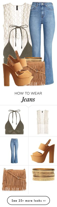 """""""8 17 15"""" by miizz-starburst on Polyvore featuring H&M, Charlotte Russe and Rebecca Minkoff"""