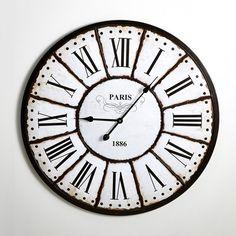 Relógio de parede, estilo retro, Zivos