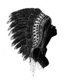 Native american indian head dress .. I like this but it shouldn't be a girl