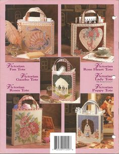 Annie's Plastic Canvas Pattern Victorian by KnitKnacksCreations