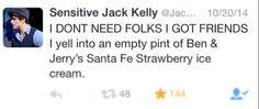 Sensitive jack kelly