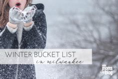 Winter Bucket List in Milwaukee A full list of all the things to do in Milwaukee! So many great ideas! Bookmark now and read later. Winter Activities, Activities For Kids, Stuff To Do, Things To Do, Group Of Friends, Winter Day, Mom Blogs, Milwaukee, Something To Do