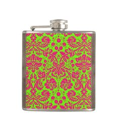 @@@Karri Best price          Trendy Chic Neon Damask Pink on Green Hip Flask           Trendy Chic Neon Damask Pink on Green Hip Flask We have the best promotion for you and if you are interested in the related item or need more information reviews from the x customer who are own of them before plea...Cleck link More >>> http://www.zazzle.com/trendy_chic_neon_damask_pink_on_green_hip_flask-256556482035045365?rf=238627982471231924&zbar=1&tc=terrest