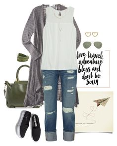 To Fly by momlifeandstyle on Polyvore featuring polyvore, fashion, style, Aéropostale, Frame, Keds, Danielle Nicole, Frye, Marc by Marc Jacobs, BCBGeneration, Ray-Ban, Americanflat and clothing
