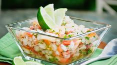 This healthy, fresh and easy ceviche is your answer to the next potluck dilemma.