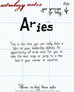 Aries Astrology Note: Is your moon in Pisces?  Visit iFate.com Astrology today!