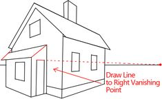 Do you want to learn how to draw a house in correct perspective so that it really looks like it is 3-dimensional? Here is an easy to follow tutorial that w