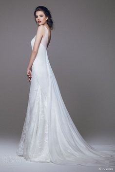 Sheath Wedding Dress : Blumarine Wedding Dresses 2015  Part 2   Wedding Inspirasi