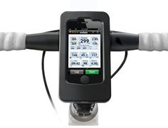 The Wahoo Fitness iPhone Bike Pack http://coolpile.com/health-fitness/wahoo-fitness-bike-pack-shape/ via CoolPile.com $129