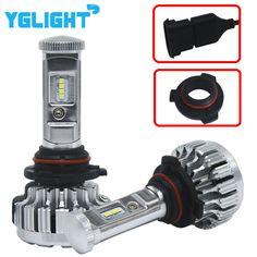 Ford Fusion JU 55w Clear Xenon HID High//Low Beam Headlight Headlamp Bulbs Pair