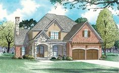 House Plan:  NDG 1333 - Meadowbrook    2,931 Sq.Ft.   4 Bed   2.5 Bath