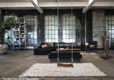 Un loft californien de 420 m² sans aucune cloison ! - Elle Décoration