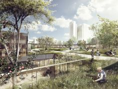 This Copenhagen Diabetes Center Connects Patients to Nature | ArchDaily