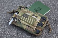 Blue Force Gear Helium Whisper™ Admin Pouch:  http://www.operator7airsoft.com/2012/06/12/blue-force-gear-helium-whisper-admin-pouch/
