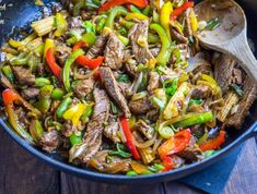 This slimming friendly Stir-fried Beef with Ginger and Spring Onion tastes like a takeaway, but has far less calories and Weight Watchers Points! Beef Recipes, Cooking Recipes, Healthy Recipes, Beef Meals, Spring Onion Recipes, Dirty Fries, Fried Beef, Beef Stir Fry, Slimming World Recipes
