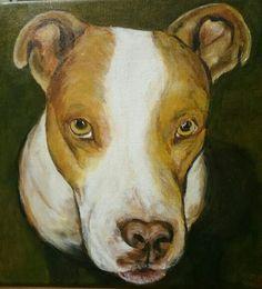 Bessy, hondje,  gemaakt in opdracht
