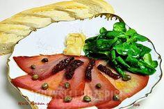 Carpaccio z tuńczyka