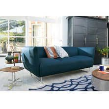 Faro three seater sofa blue
