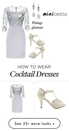 """""""Vintage glamour"""" by twhalen101 on Polyvore featuring Givenchy and vintage"""