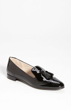 Prada Brogue Smoking Slipper