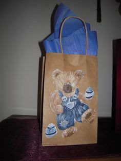 Hand Painted Bags by Elvira Nell Easter time