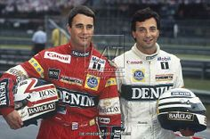Mansell and Patrese
