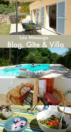 "Lou Messugo is a self-catering gîte (sleeps 4), a family villa (sleeps 11) and a popular blog writing about travel, life in France, expat and TCK issues.  Located on the Côte d'Azur  in the South of France (French Riviera) on the edge of Provence, this award-winning holiday accommodation (vacation rental) has been described by a guest as ""one of the best places on earth""! Click through to find out more."