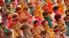 Image result for Paper Quilled Dolls