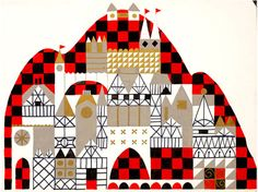 Mary Blair Small World concept art
