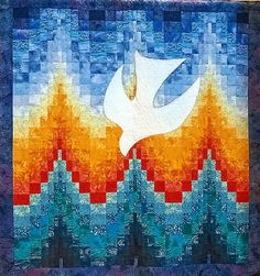 Persnickety Quilts: bargello quilt