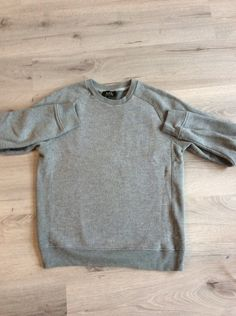 A.P.C. Grey Sweater/Jumper Size S $105 - Grailed